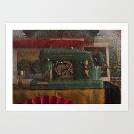 Still life with the old stuff 2 Art Print