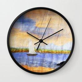 saliboat Wall Clock
