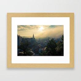 Cesky Krumlov Czech Republic Framed Art Print
