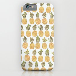 Vintage Pineapple Show iPhone Case