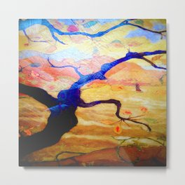 Treescape Abstract #1 Metal Print
