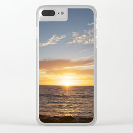 My favorite color is sunset Clear iPhone Case