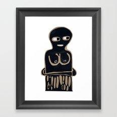 someone else Framed Art Print