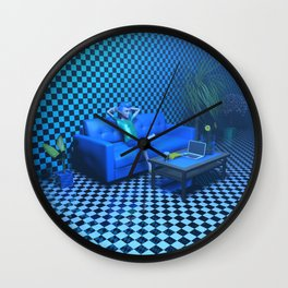 Blue Room Wall Clock