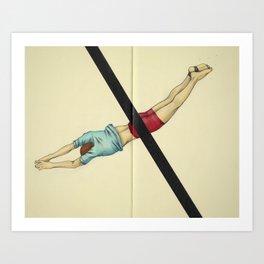 Short Falls From Small Graces Art Print