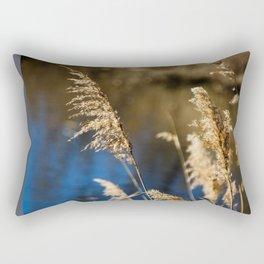 Reeds in Camargue Rectangular Pillow