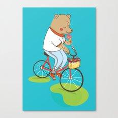 Berlin Summer Ride Canvas Print