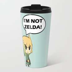 I'm not Zelda! (link from legend of zelda) Travel Mug