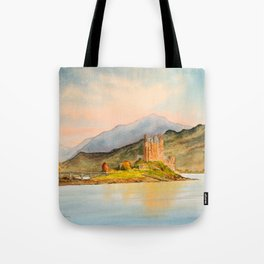 Eilean Donan Castle Scotland Tote Bag