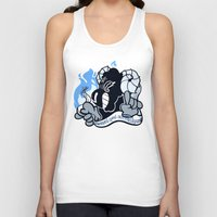 baphomet Tank Tops featuring BAPHOMET by QueenBees