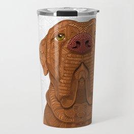 Bordeaux Mastiff Travel Mug