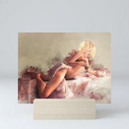 Satin & Lace Mini Art Print