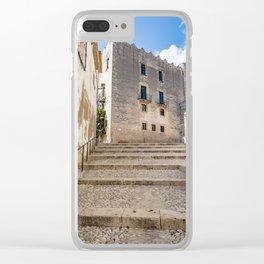 Altafulla Town Clear iPhone Case