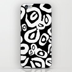 LEOPARD! (black) iPhone & iPod Skin