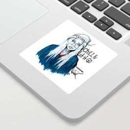 #STUKGIRL PHOENIX Sticker