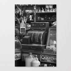 Cash Register Canvas Print
