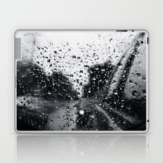 'Side View Rain' Laptop & iPad Skin