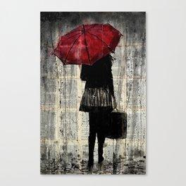 FEELS LIKE RAIN Canvas Print