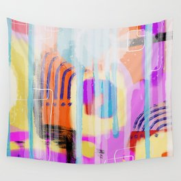 Painterly Abstract Wall Tapestry