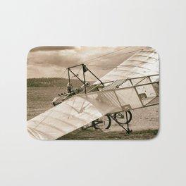 Old Airplane Bath Mat