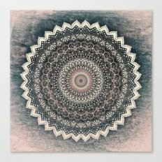 WARM WINTER MANDALA Canvas Print