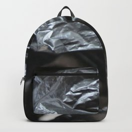 black plastic 01 Backpack