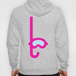 Pink Snorkel - Diver Pattern Hoody