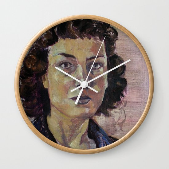 Philippa Foot Wall Clock