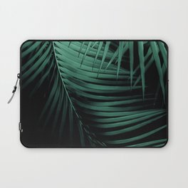 Palm Leaves Green Vibes #3 #tropical #decor #art #society6 Laptop Sleeve