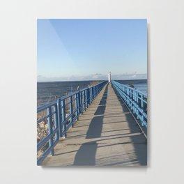 The Pier at City Beach Metal Print