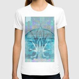 Blue Kali Goddess Visionary T-shirt