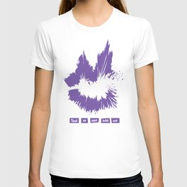 Shut Up And Kiss Me (Purple) T-shirt