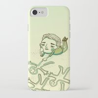 lonely iPhone & iPod Cases featuring Lonely by Emily Joan Campbell