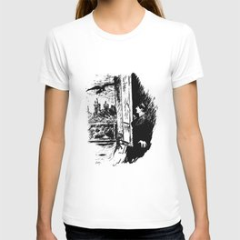 Edouard Manet - The raven by Poe 2 T-shirt