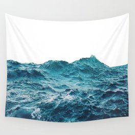 Sea breeze surfs into water Wall Tapestry