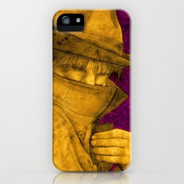 Pete, Slimane and me. iPhone Case