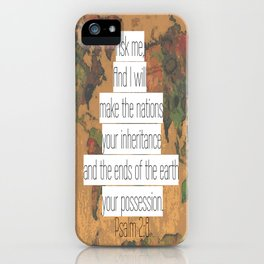 Ask me iPhone Case