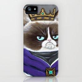 King Cat iPhone Case