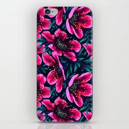 Manuka Floral Print iPhone Skin