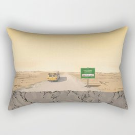 Now Leaving Sunnydale Rectangular Pillow