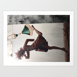 Blinded by Opulence Art Print