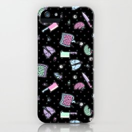 Sweet Yandere (Black) iPhone Case