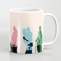sith Mugs featuring Revenge of the Sith by Jason Vaughan