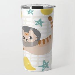Simba the cat Travel Mug