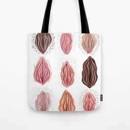 Vaginas Tote Bag