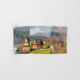 village in Tatra Country Hand & Bath Towel