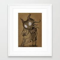 majora Framed Art Prints featuring majora by Vague Parade
