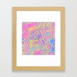 pink brownie Framed Art Print
