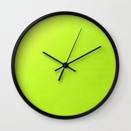 Electric Colors Wall Clock