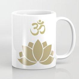 OM Lotus Coffee Mug